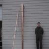 4 inch custom column.