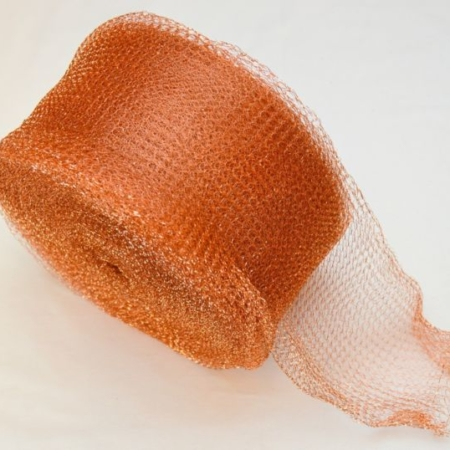 Copper Mesh or Ceramic Rings